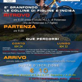 DOMENICA 28 APRILE 2019 LA 2a EDIZIONE DELLA GRANFONDO LE COLLINE DI FIGLINE E INCISA